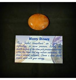 Worry Stone - Carnelian