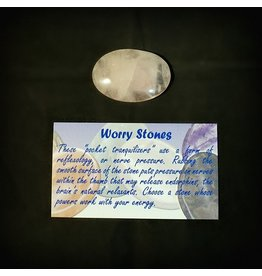 Worry Stone - Rose Quartz