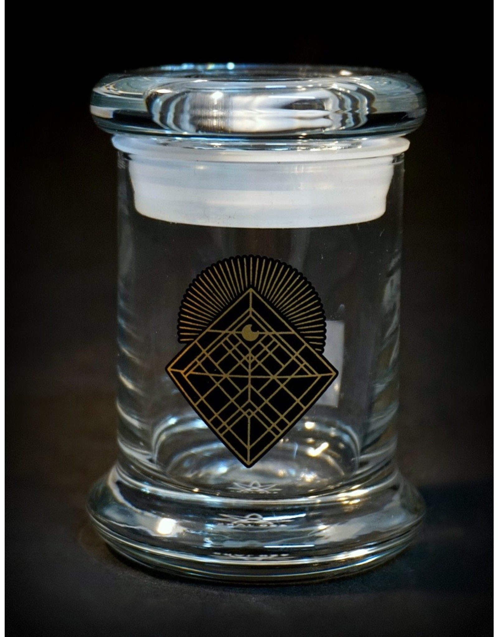 420 Science 420 Science Jars XSmall Diamond Intersect Pop Top