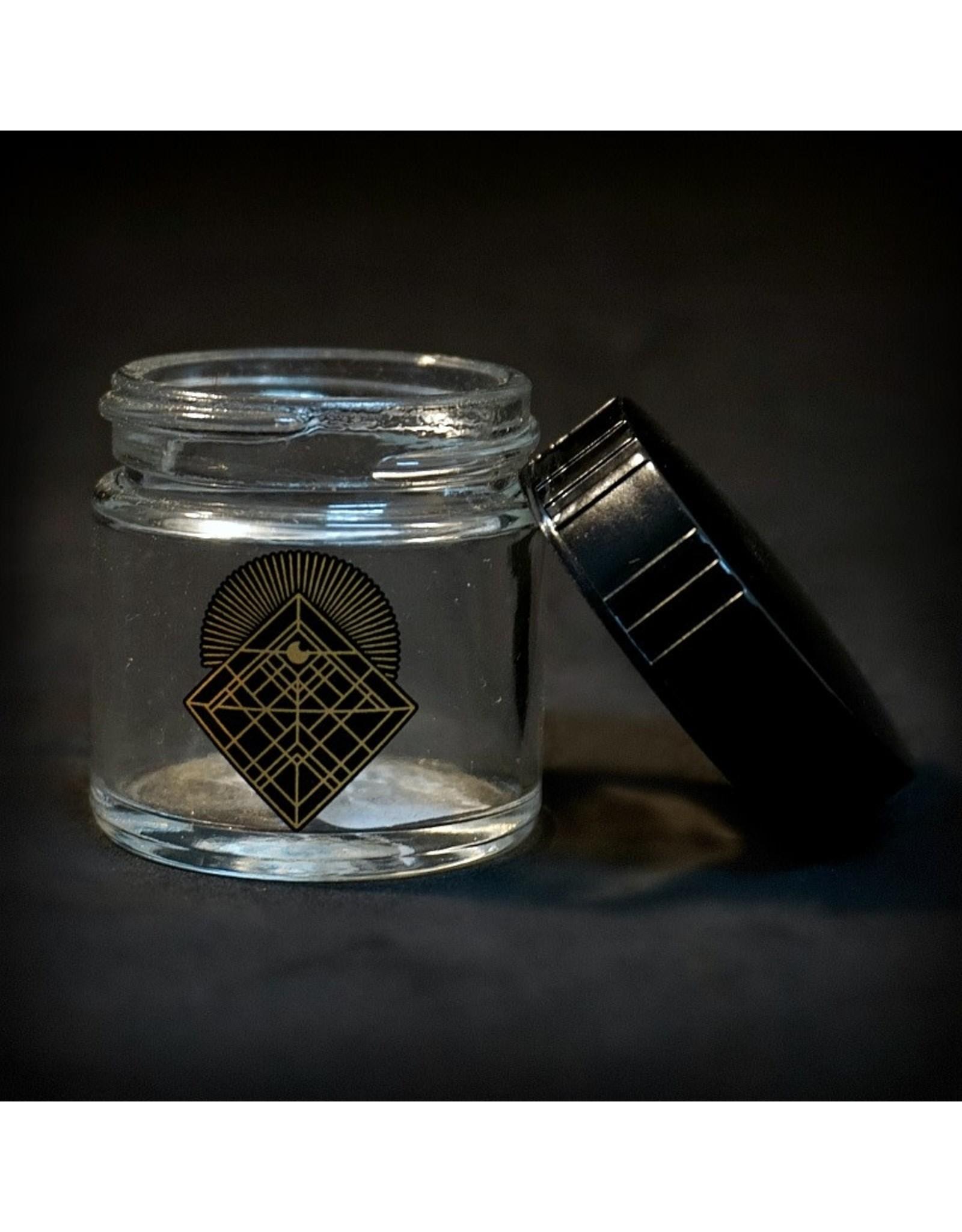 420 Science 420 Science Jars  XSmall Diamond Intersect Screw Top