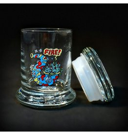 420 Science 420 Science Jars XSmall Fire Bud Pop Top