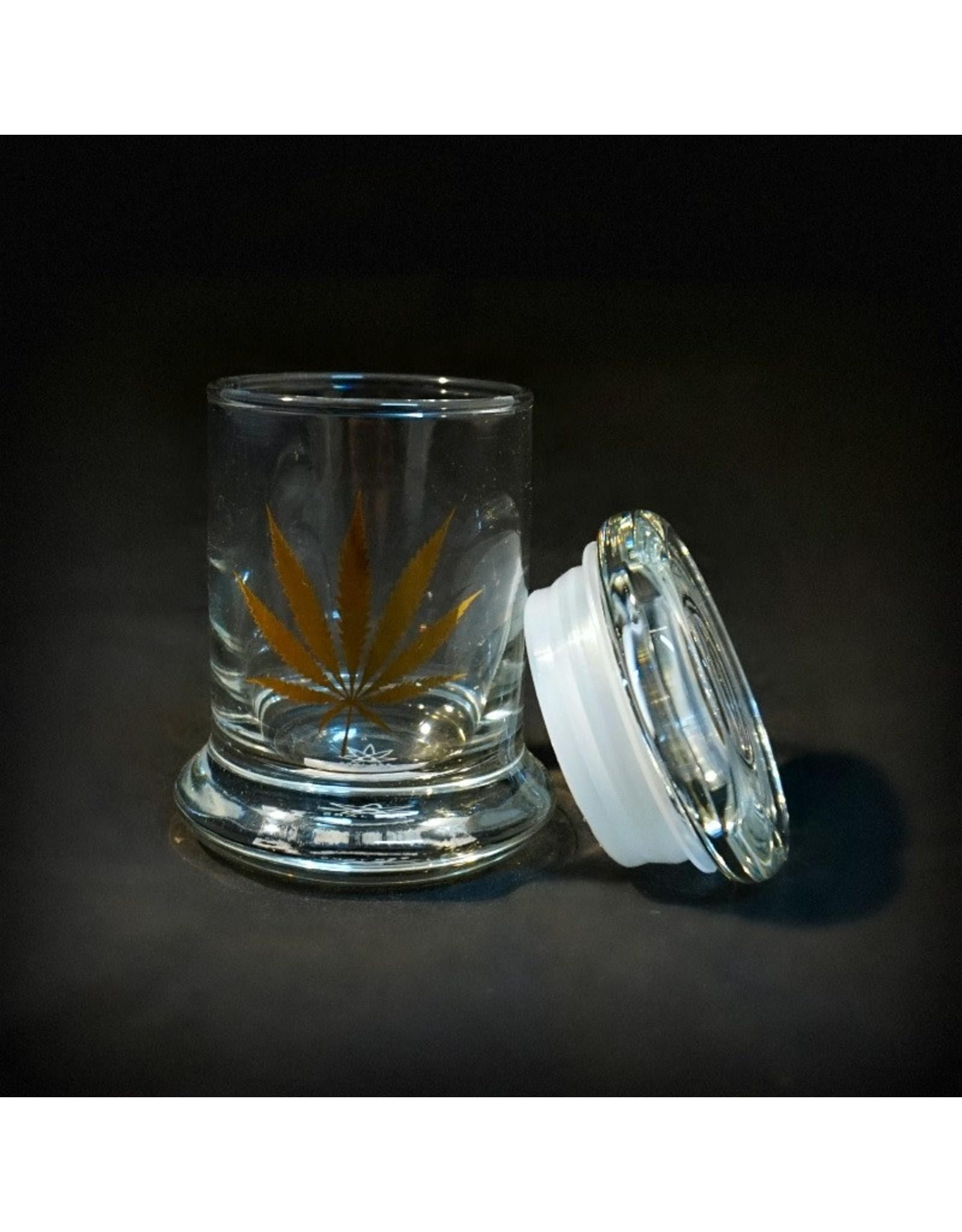 420 Science 420 Science Jars XSmall Gold Leaf Pop Top