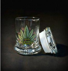 420 Science 420 Science Jars XSmall Happy Leaf Pop Top
