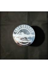 """Croc Crusher Croc Crusher 2.0"""" 4pc - Silver"""