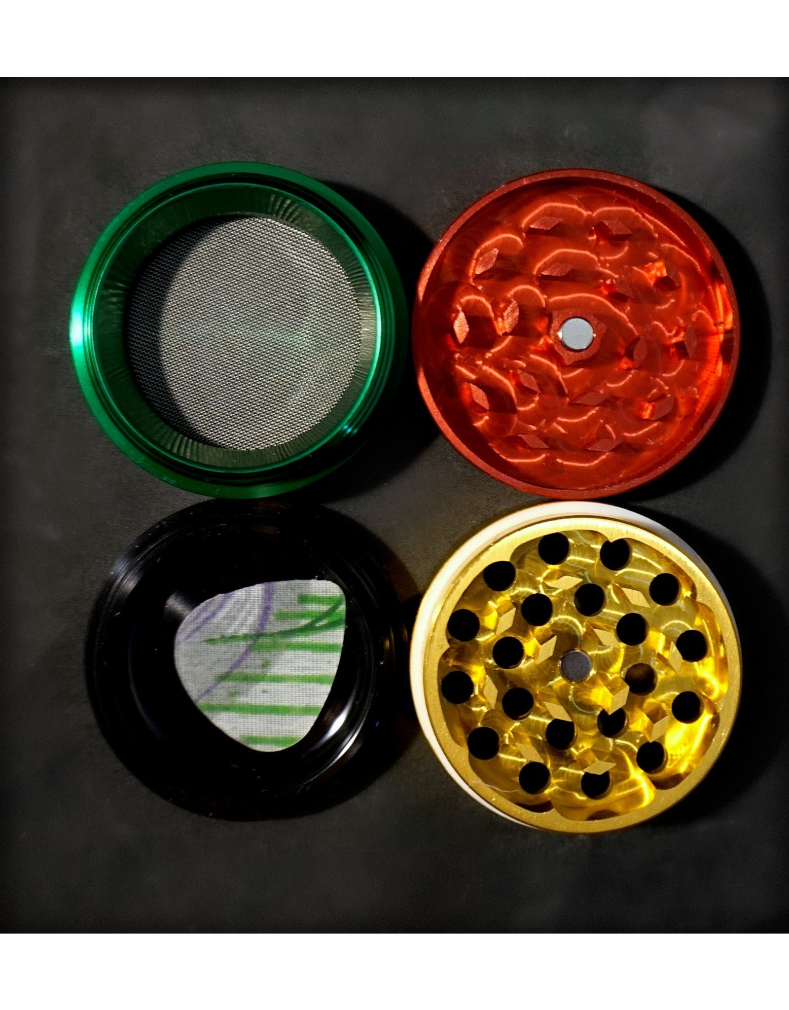 "Croc Crusher Croc Crusher 2.0"" 4pc - Rasta"