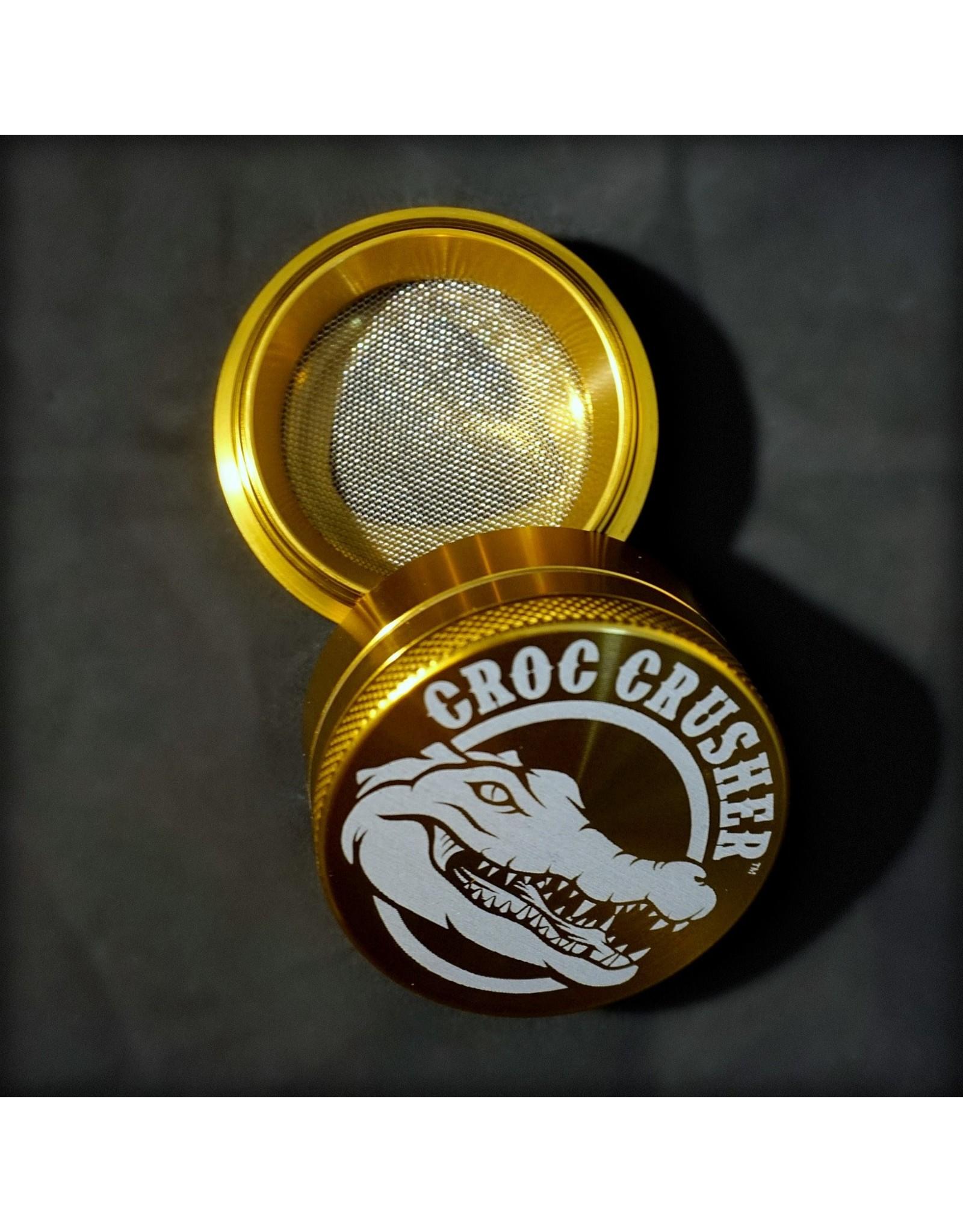 """Croc Crusher Croc Crusher 2.0"""" 4pc - Gold"""