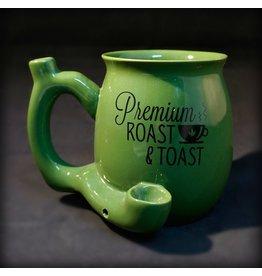 Ceramic Pipe Mug – Premium Roast & Toast Green