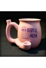 Ceramic Pipe Mug – Roast and Toast Her Royal HIGH-ness