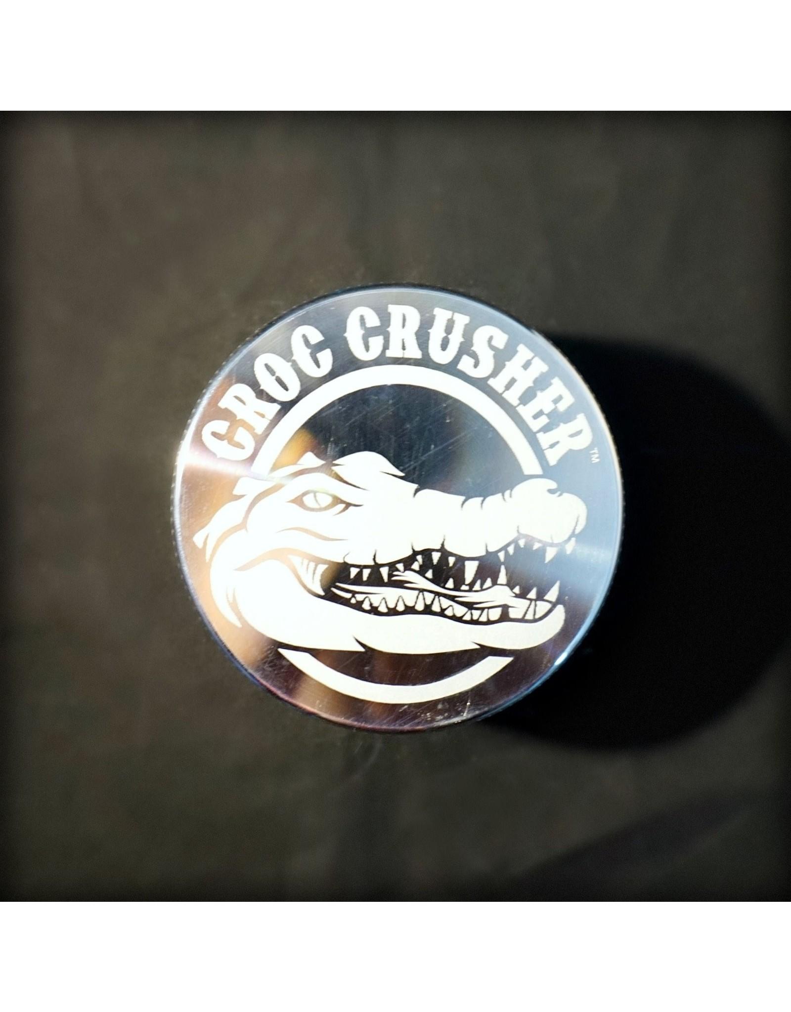 """Croc Crusher Croc Crusher 2.2"""" 4pc - Silver"""