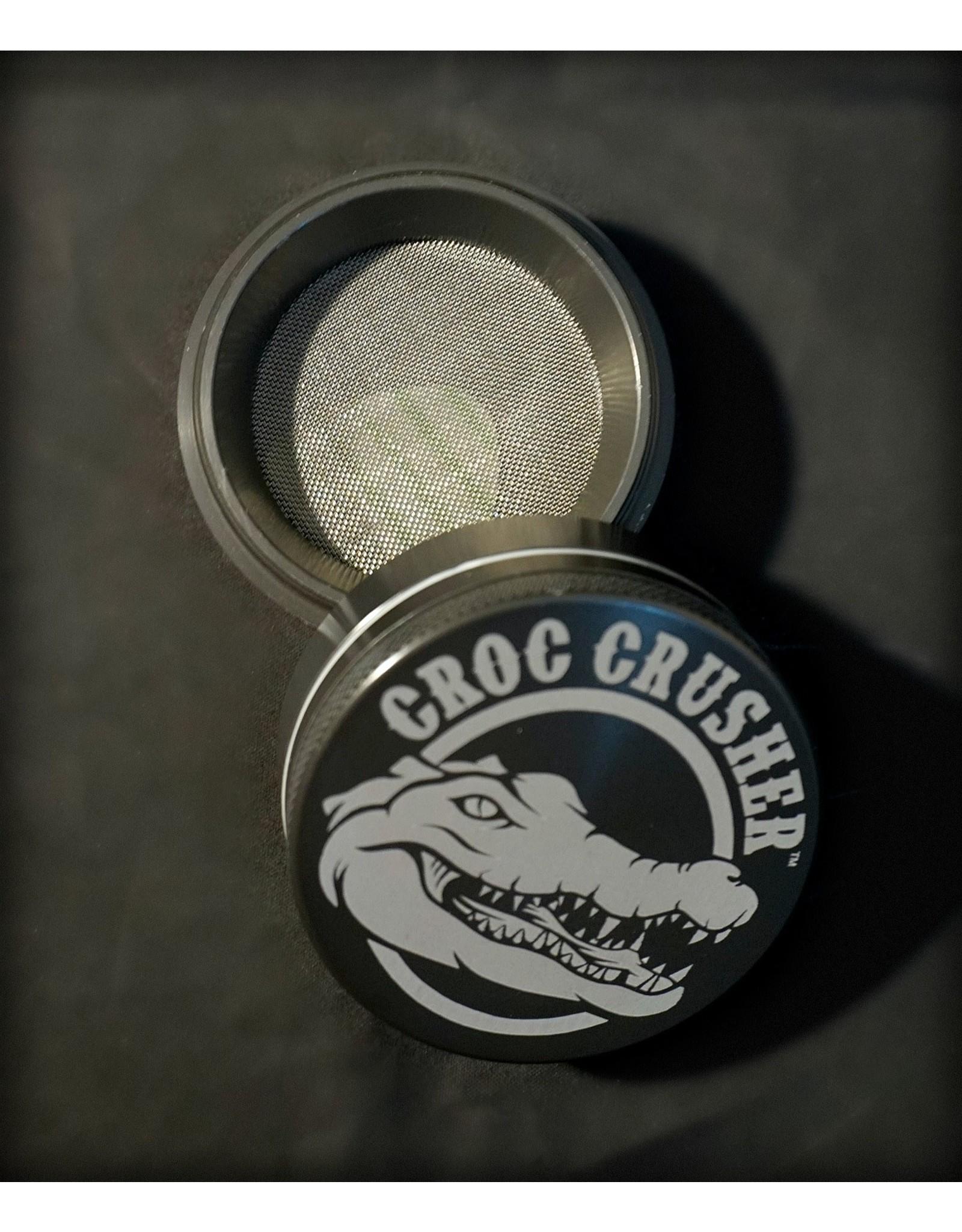 """Croc Crusher Croc Crusher 2.2"""" 4pc - Gray"""