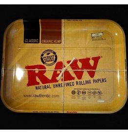 Raw Raw Aluminum High Sided Rolling Tray - XXL