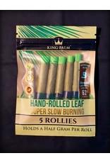 King Palm King Palm Pre-Roll Wraps Pouch w/ Boveda - 5pk Rollies