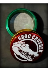 "Croc Crusher Croc Crusher 3.0"" 4pc - Rasta"