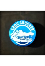 "Croc Crusher Croc Crusher 2.5"" 4pc - Turquoise"