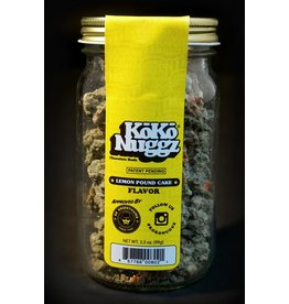 Koko Nuggz 3.5oz Jar - Lemon Pound Cake
