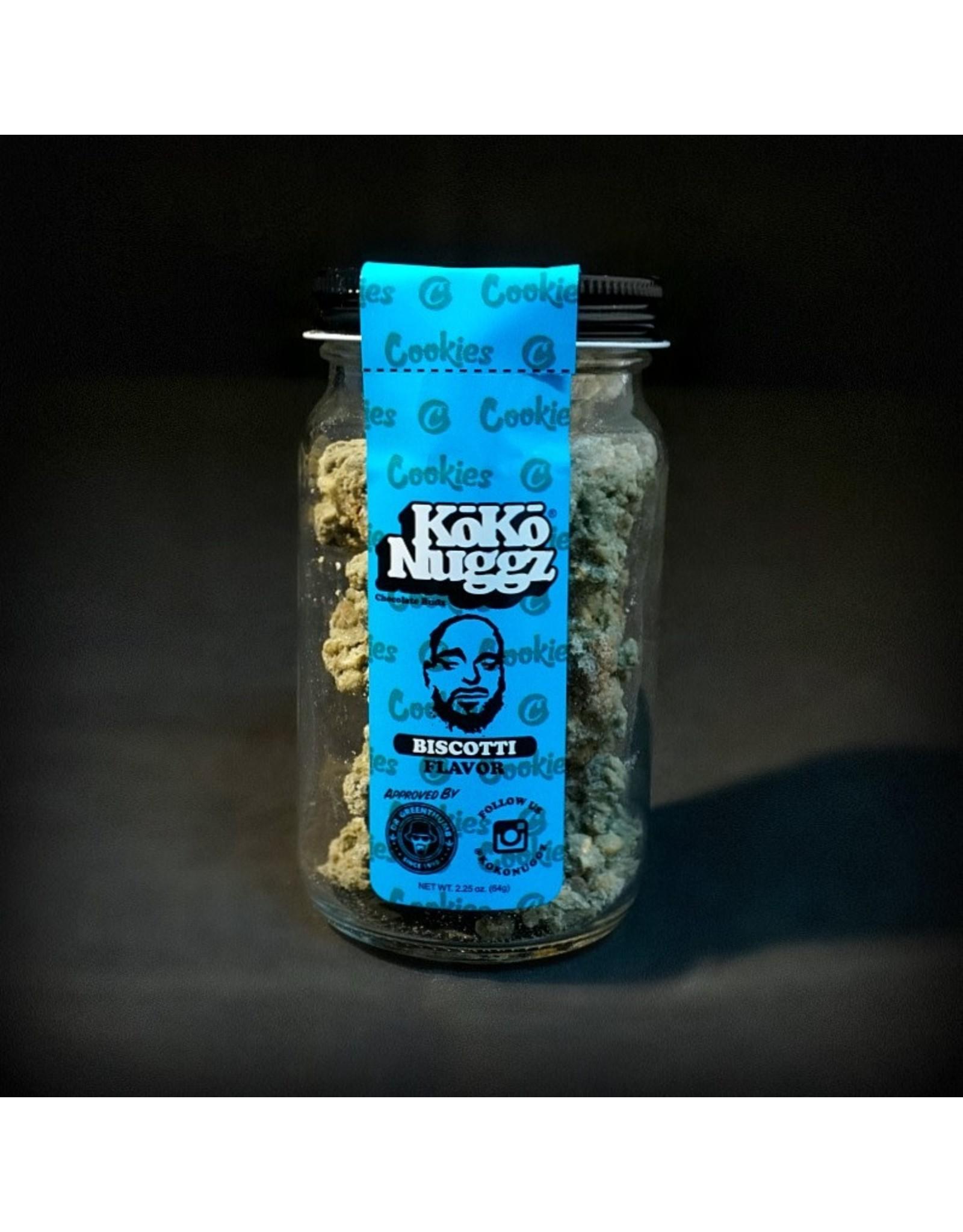 Koko Nuggz Biscotti