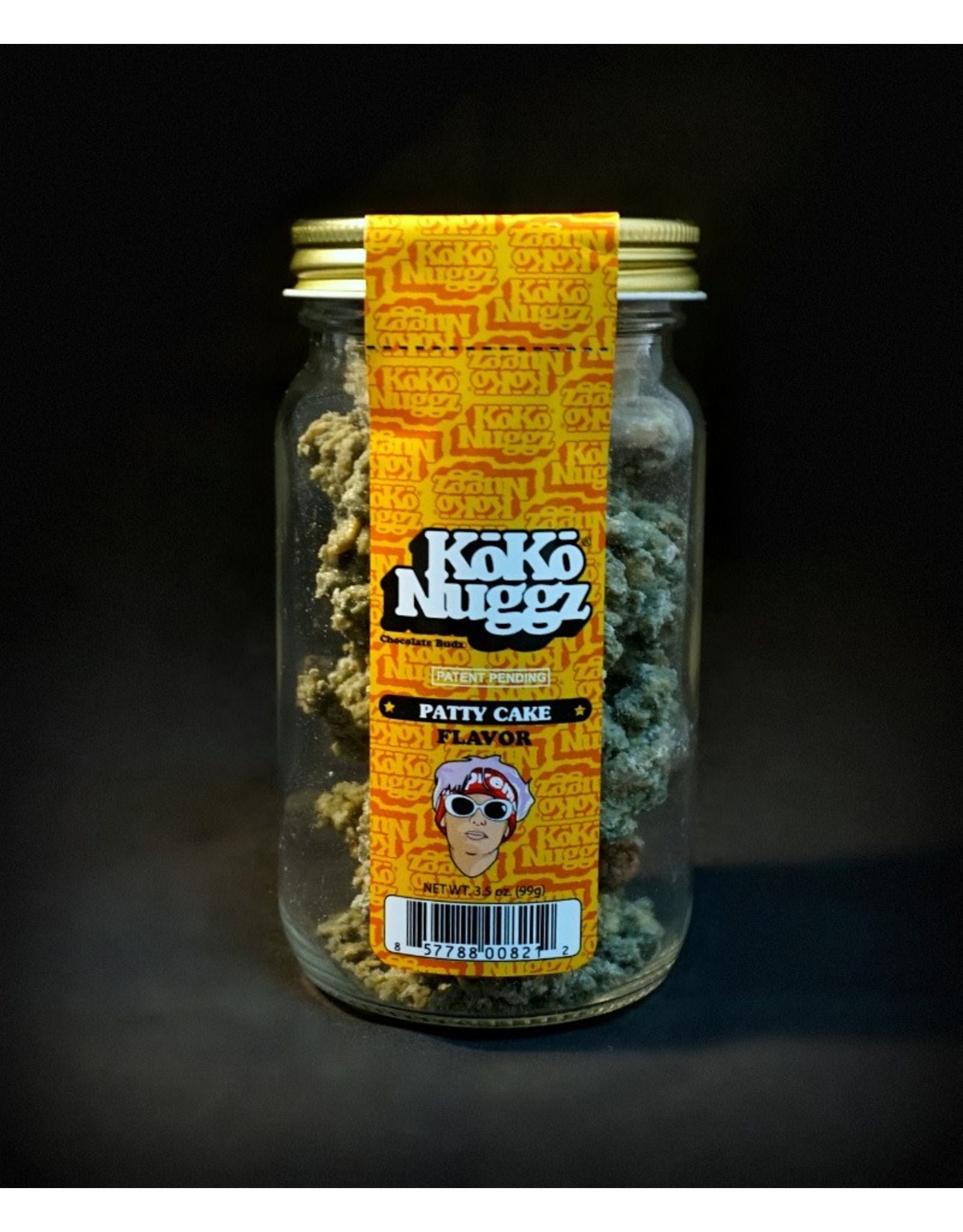 Koko Nuggz Koko Nuggz 2.25oz Jar – Patty Cake