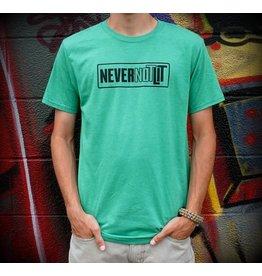 Be Lit Be Lit - Never Not Lit Green Shirt - Medium