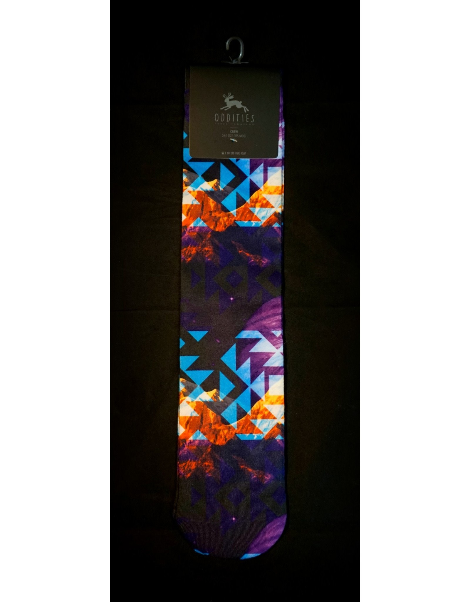 No Bad Ideas - Space Mountain Socks