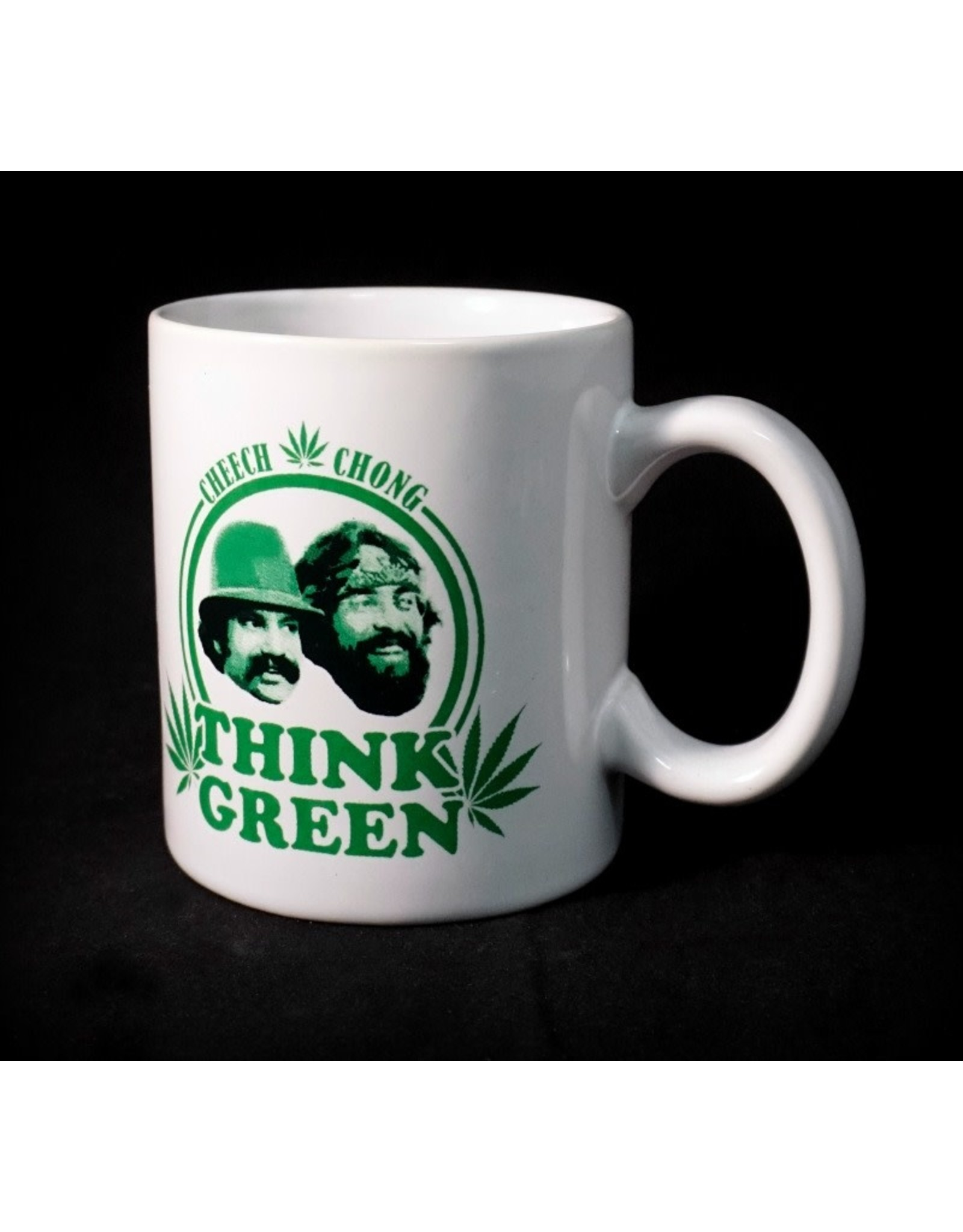 Cheech & Chong Think Green Coffee Mug