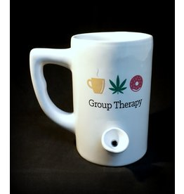 Ceramic Pipe Mug – Group Therapy