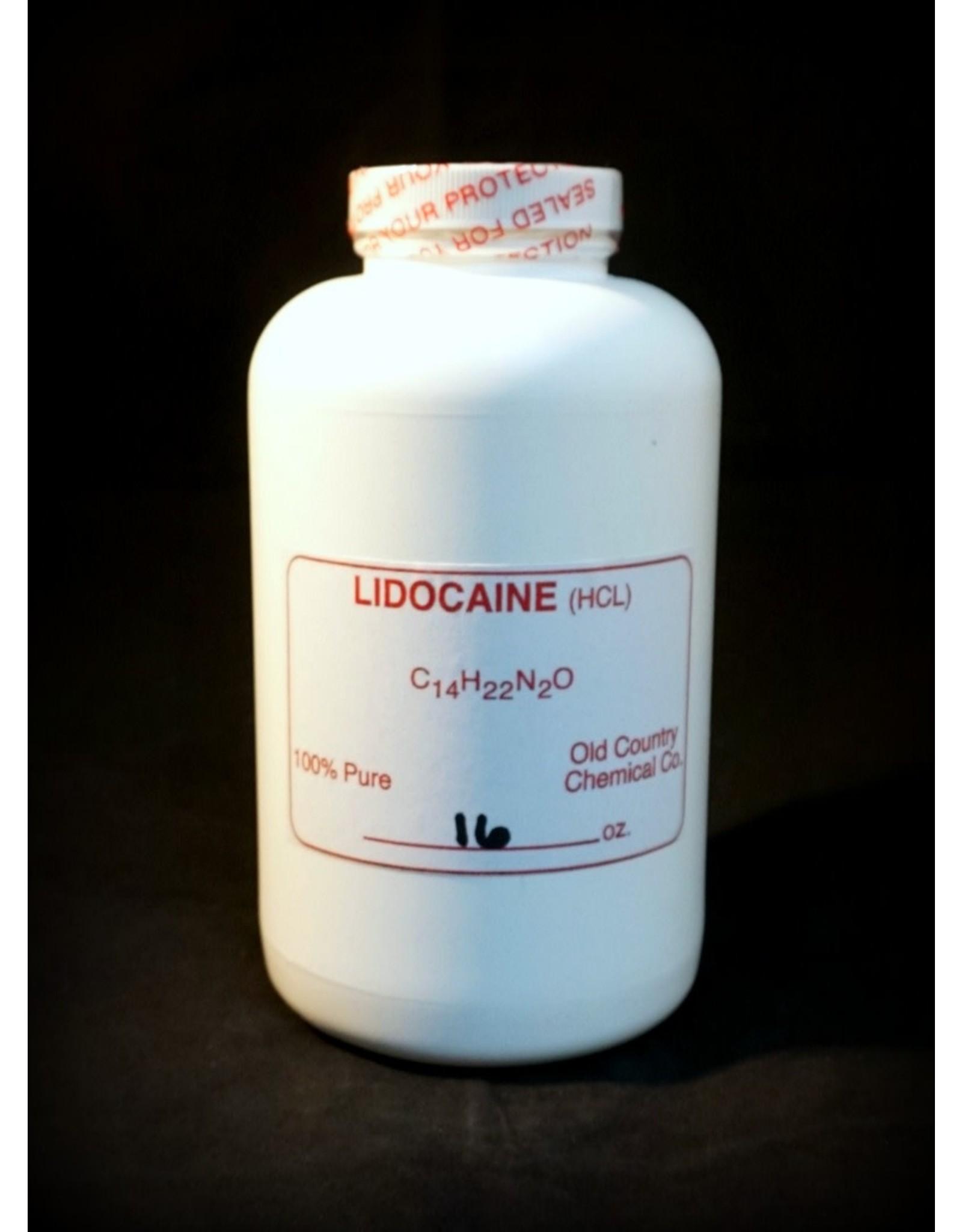 . Lidocaine