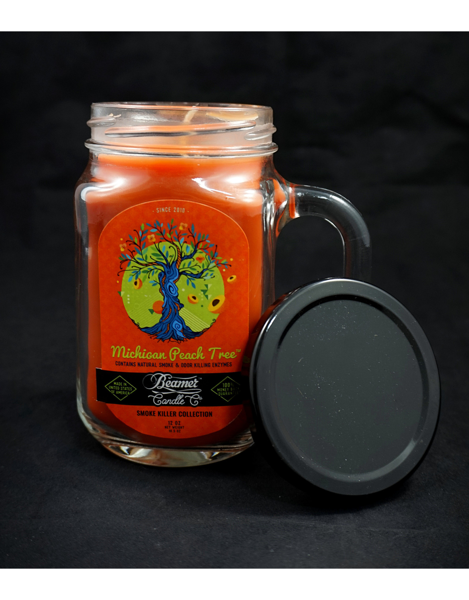 Beamer Candle - Smoker Killer Collection Michigan Peach Tree
