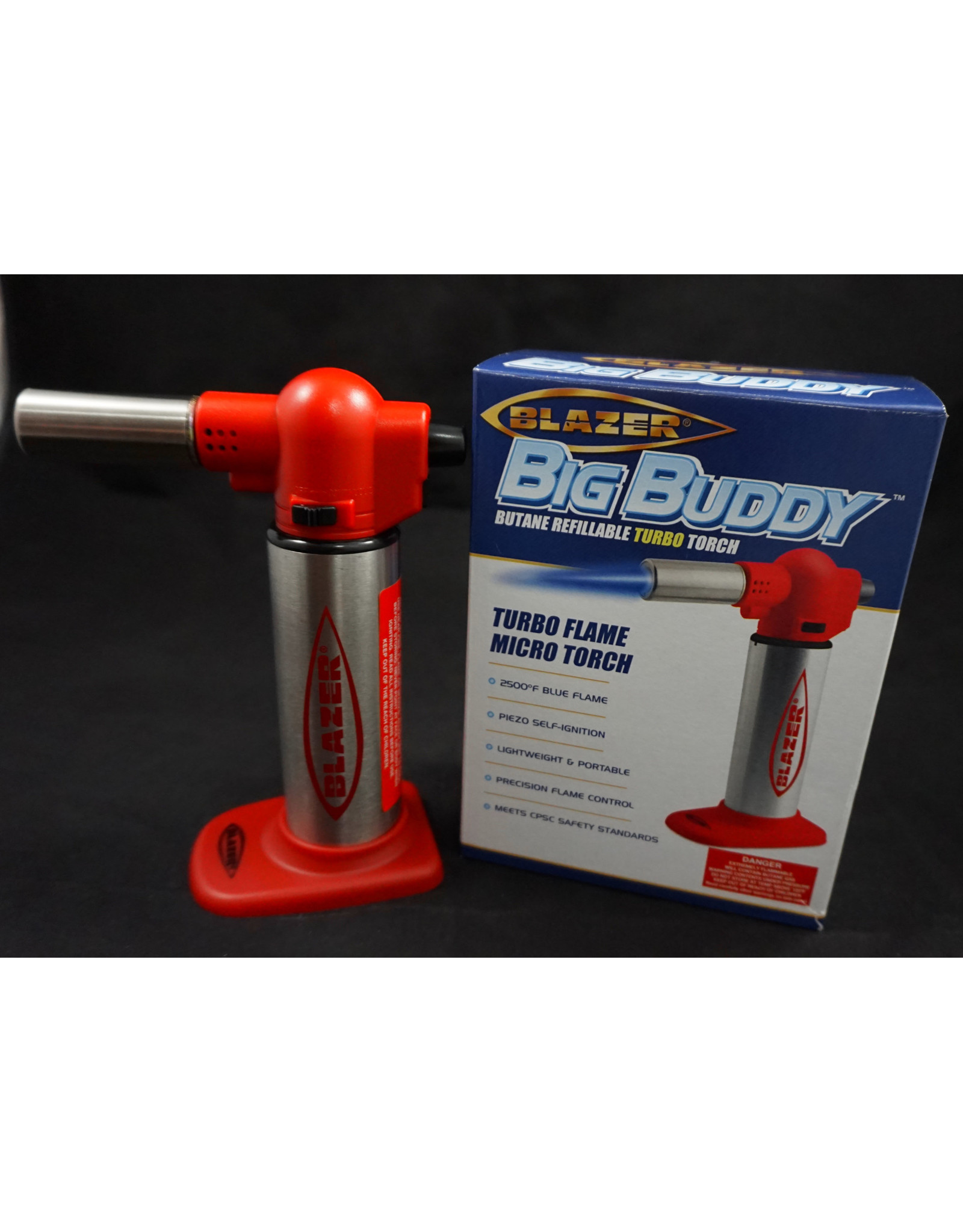 "Blazer Blazer Big Buddy Torch - 7"" Red"