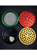 "Croc Crusher Croc Crusher 3.5"" 4pc - Rasta"