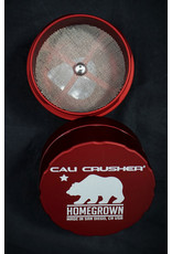 Cali Crusher Cali Crusher Homegrown 4pc Large - Red