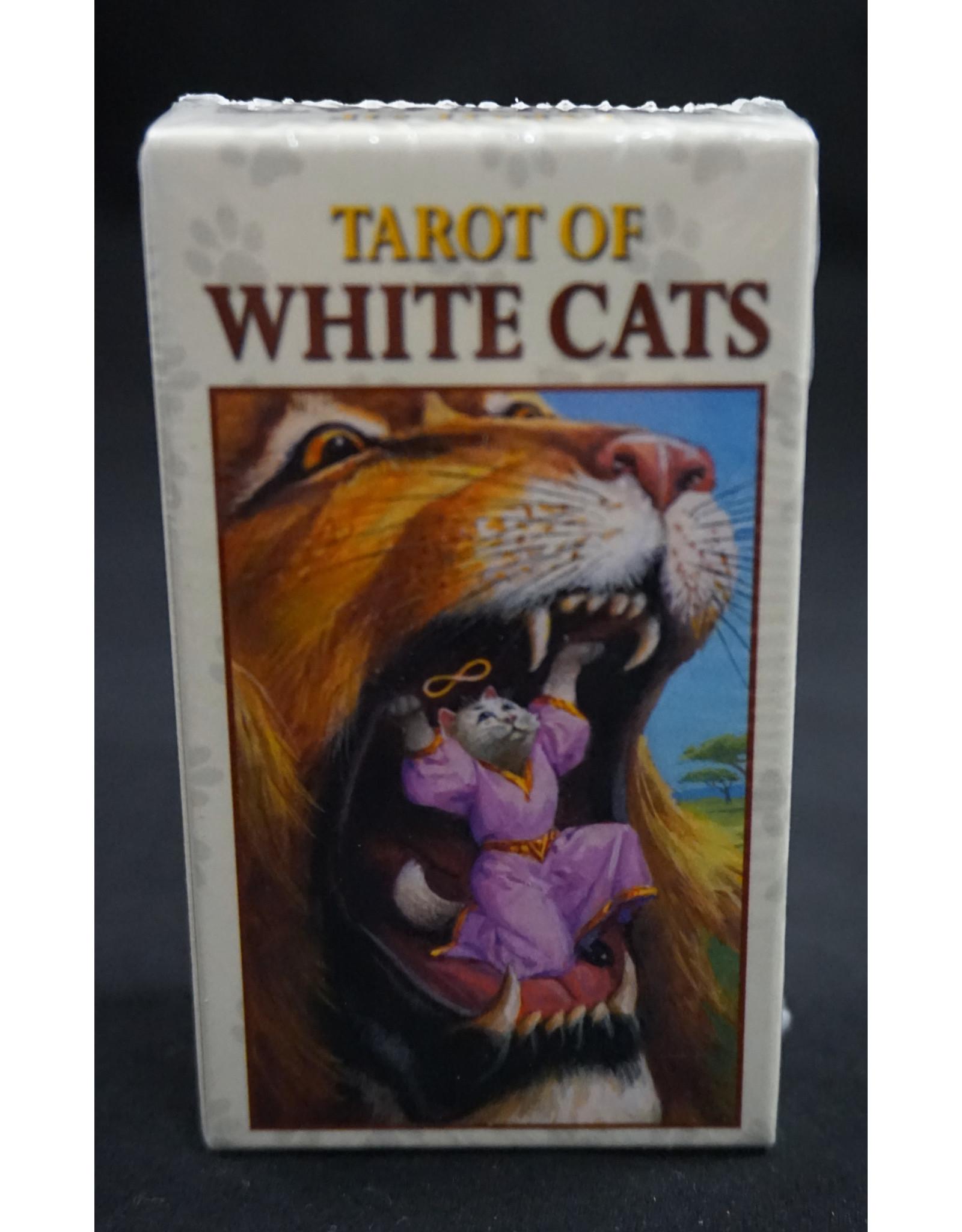 Tarot of White Cats Mini Deck