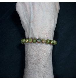 8mm Unakite Bracelet