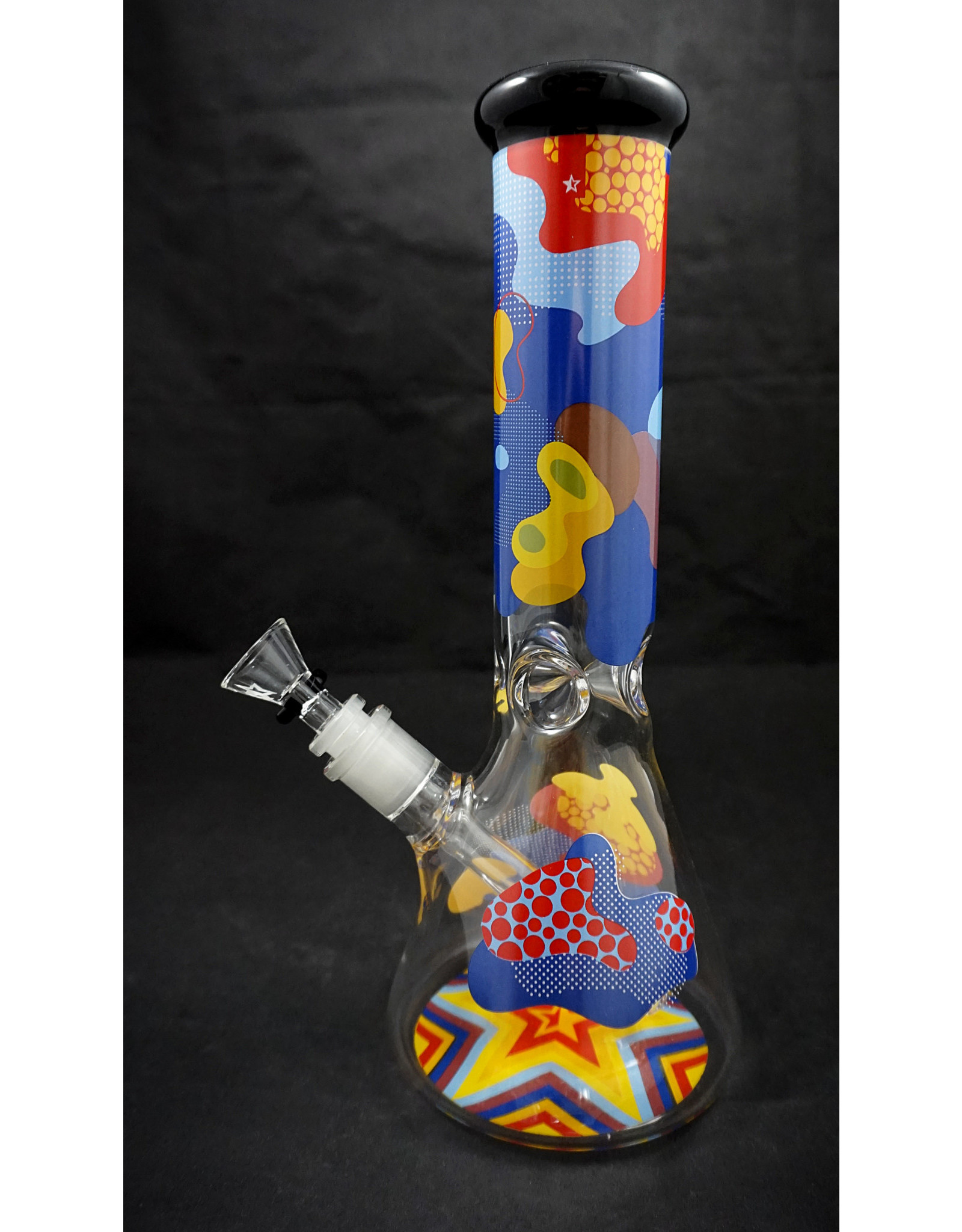 Famous Brandz Famous Brandz Beaker Water Pipe - Papaya