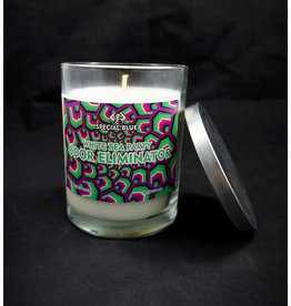 Special Blue Odor Eliminator Candle -