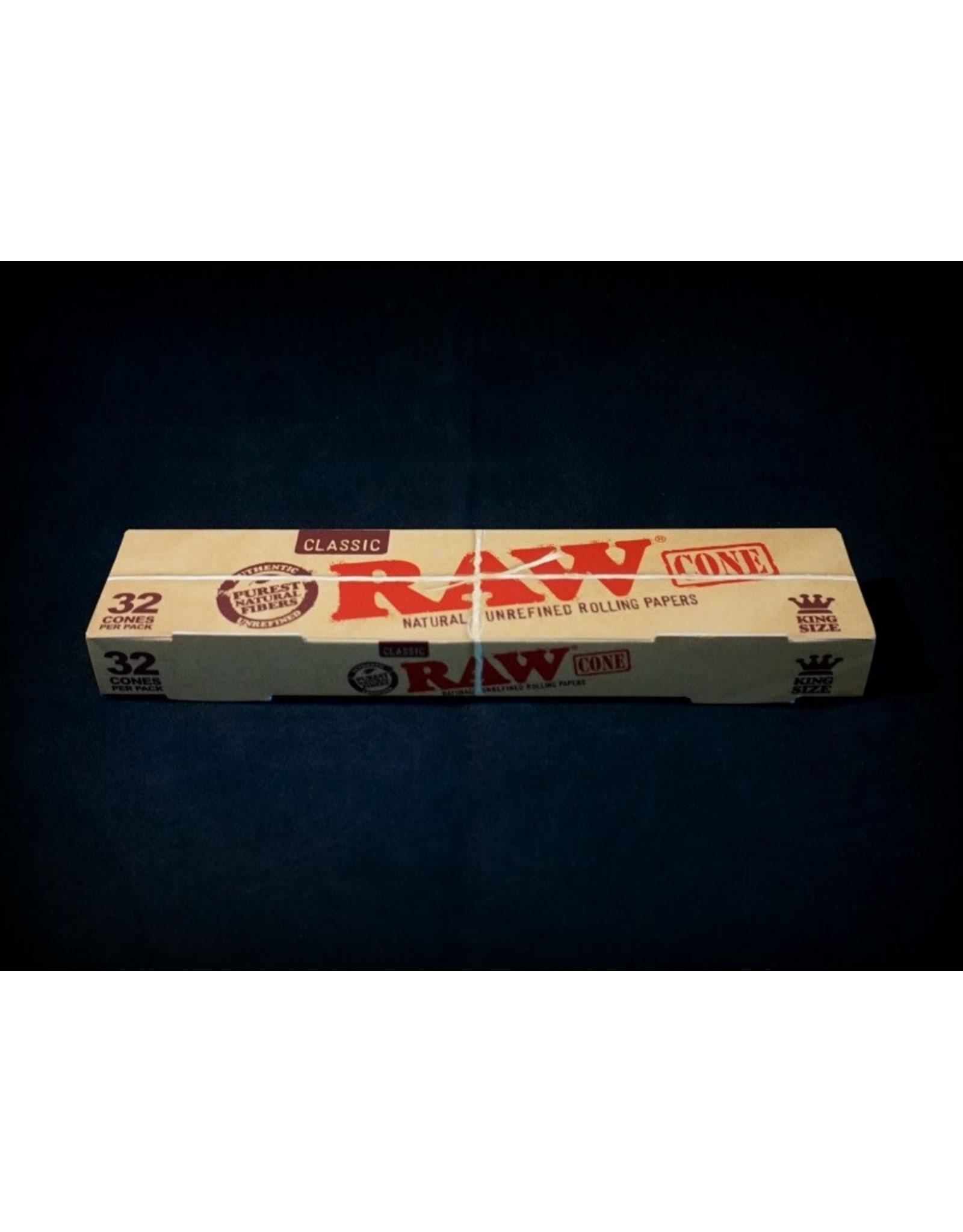 Raw Raw Classic Cone KS 32pk