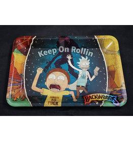 Rick and Morty Keep Rollin' Small Rolling Tray