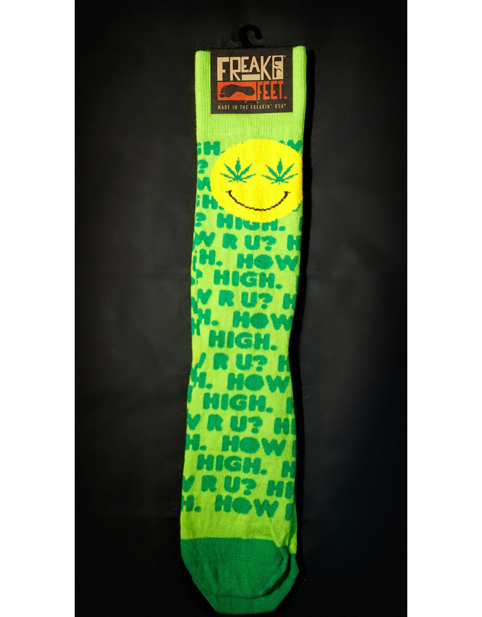 Freaker Socks How High R U?