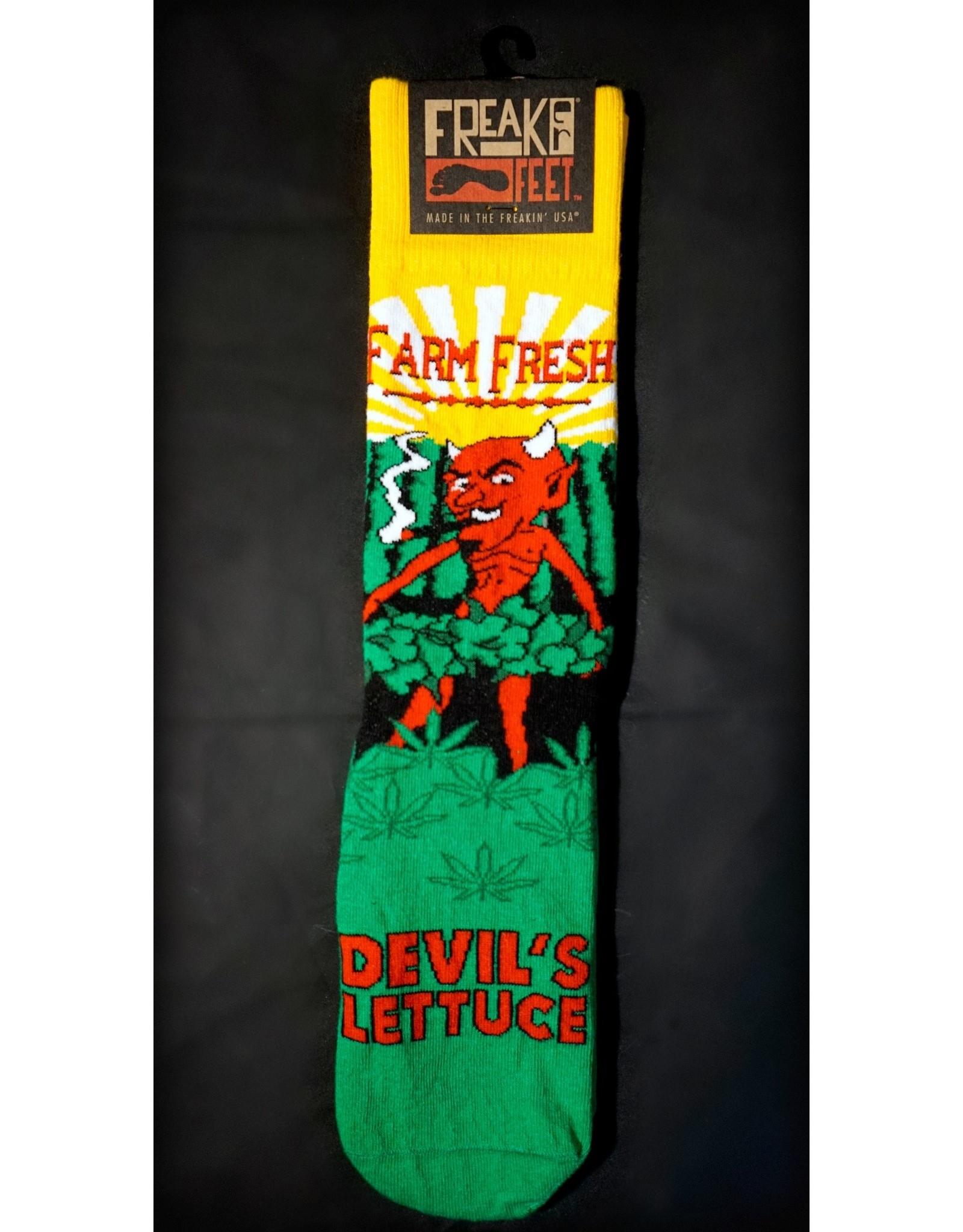 Freaker Socks - Devils Lettuce