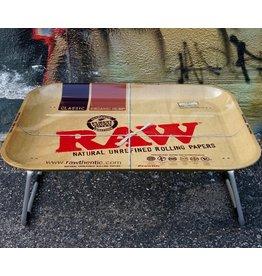 Raw Raw XXL Lap Rolling Tray w/ Legs