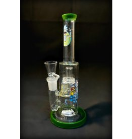 "Rick and Morty Straight Waterpipe 9"" -Assorted colors"