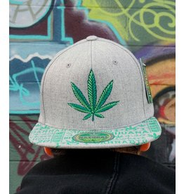 Leaf High Life 420 Hat - Natural