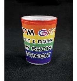 Gay / Straight Shot Glass