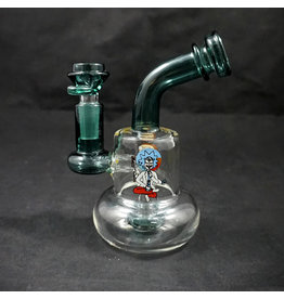Rick and Morty Bent Neck with Circle Perc
