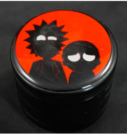 Rick and Morty Grinder Medium - Red Shadow