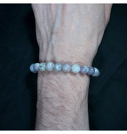 8mm Ruby Jade Bracelet