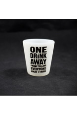 Glow In the Dark Silicone Shot Glass Assorted