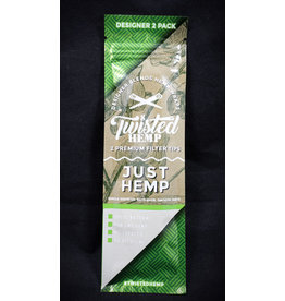 Twisted Hemp Wraps Twisted Hemp Wraps 2pk - Just Hemp