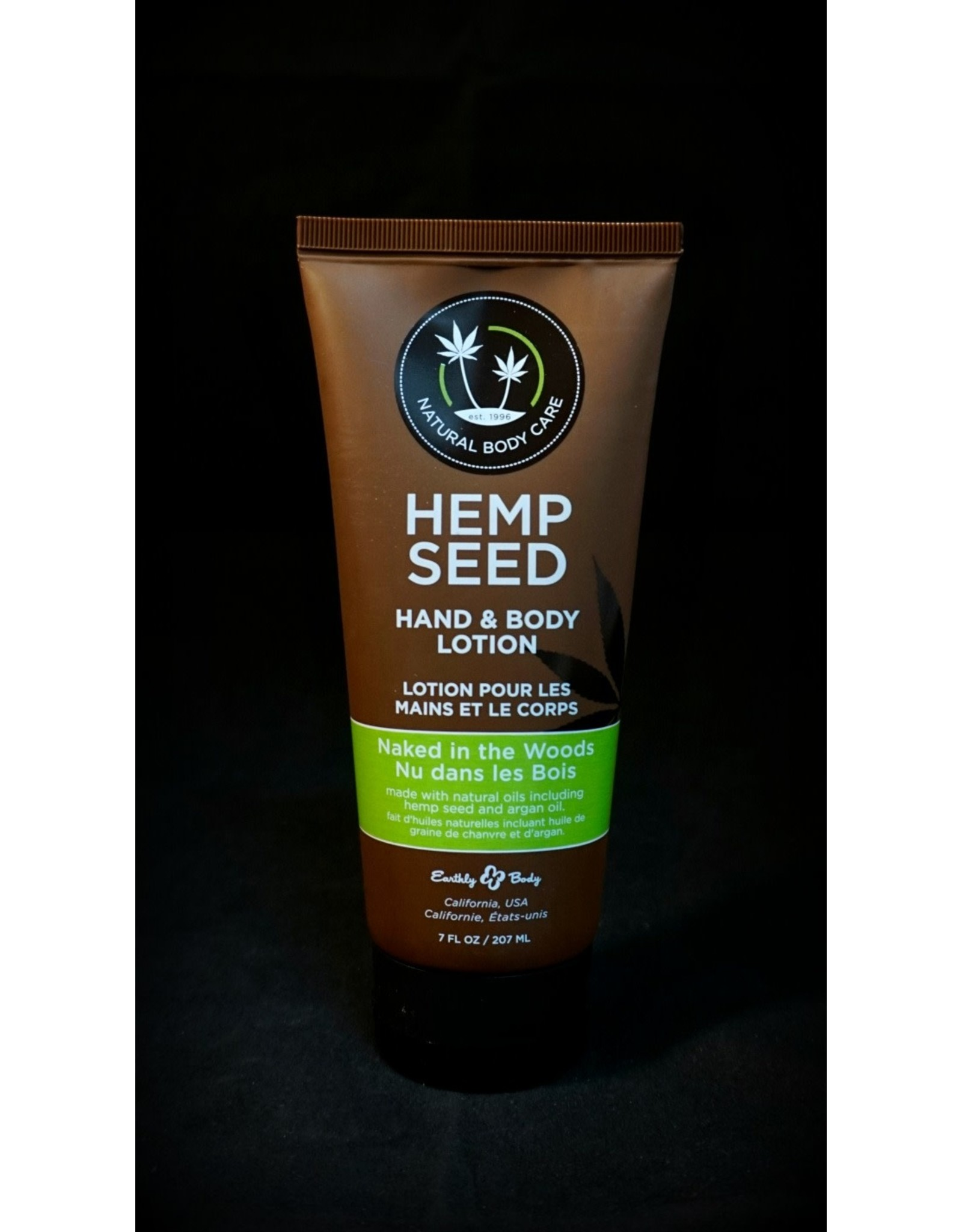 Earthly Hemp Seed Body Lotion 7oz Naked in the Woods