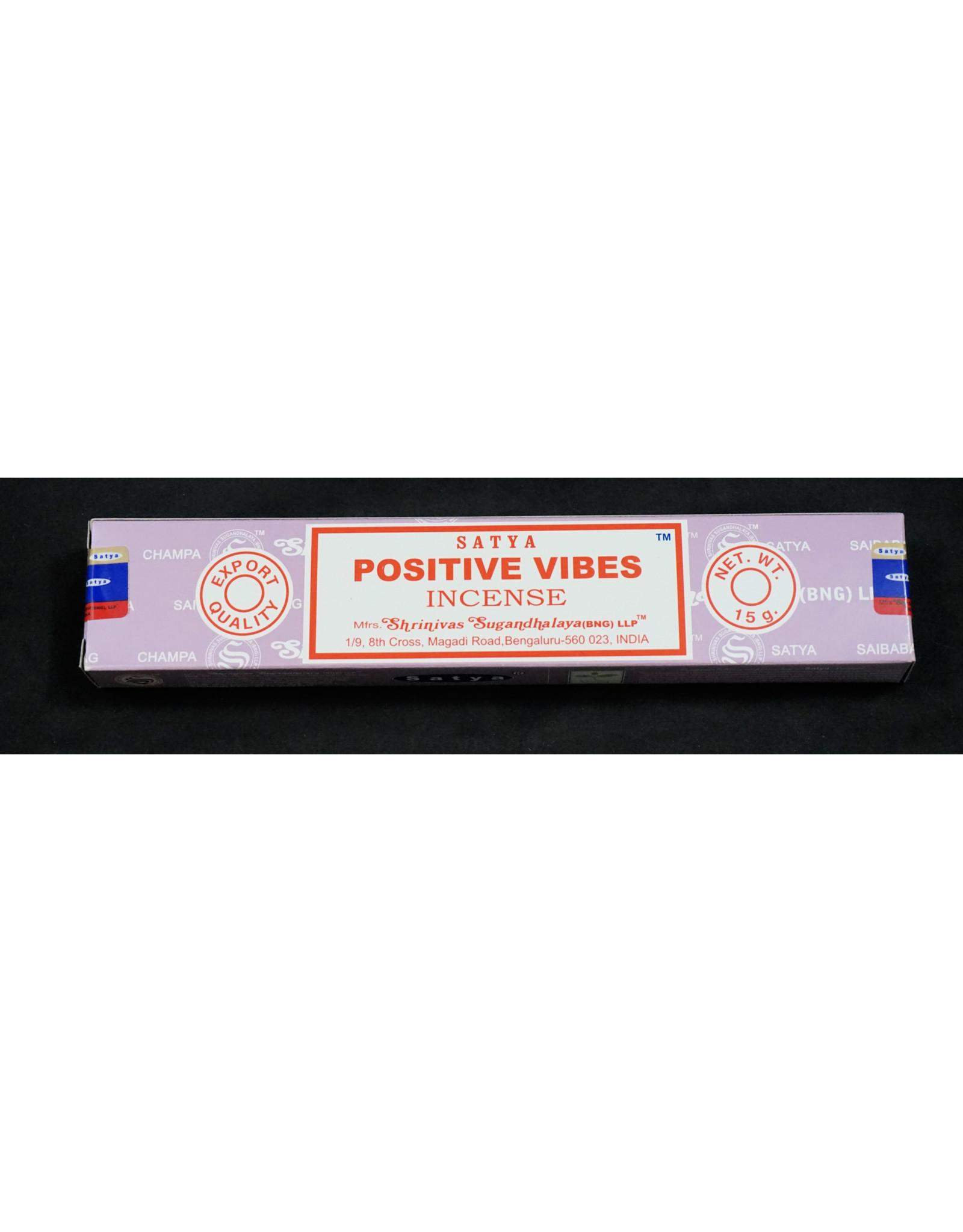 Satya Satya Incense 15g Positive Vibes