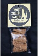 Wolf Spirit Sage Wolf Spirit Sage - Palo Santo Cones
